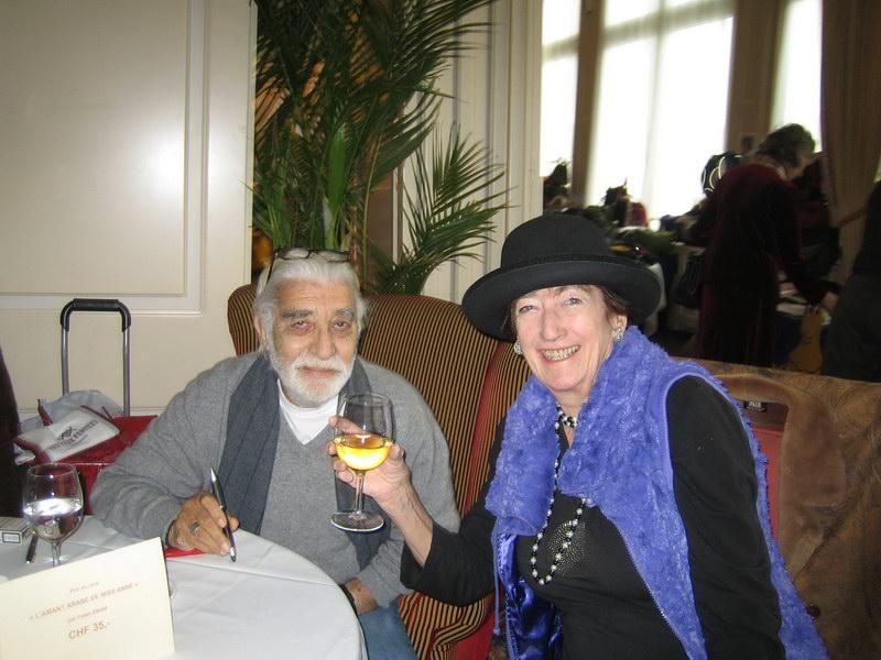 Pierre Blanc, amie de longue date de Fateh Emam. Ils étaient enemble sur les bancs de l'université