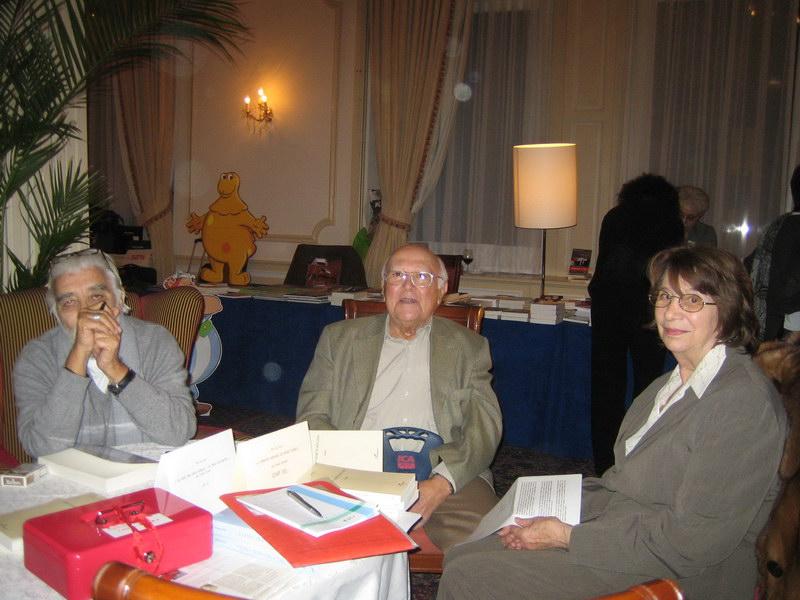 Larry et Marinette Kirianoff, amis de longue date