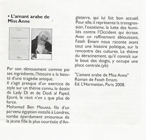 Texte d'Yvonne Bercher sur le livre